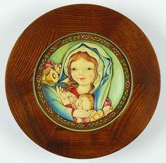 Anri FERRANDIZ MOTHER S DAY PLATE Holding Child 2493114
