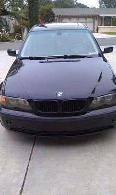 BMW 325i Black with Rims