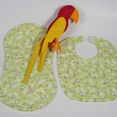 Do you want your little one to look stylish? Are you searching for a practical and trendy gift for a new baby? A cute, colourful bib & burp cloth set is the perfect gift.