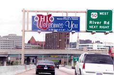 Ohio State Sign