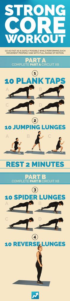 9 Quick Total-Body Workouts, No Equipment Needed