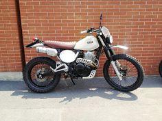 Honda NX650 Dominator - Aniba Motorcycles - Inazuma Cafe Racer