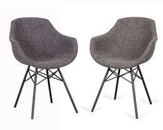 Eetkamerstoel-Dyyk-Busc-bij-Rebel-Wonen-en-Slapen-in-Huizen Eames, Dining Chairs, New Homes, Rebel, Inspiration, Furniture, Home Decor, Dinner Room, Design For Home