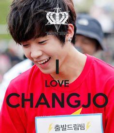 Keep Calm and Love Changjo !!