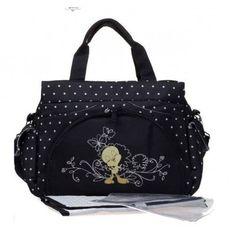 Black Dot Tweety Bird Changing Bag