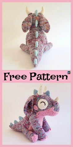 Cute Little Crochet Orbit Dragon – Free Pattern #freecrochetpatterns #toys #dragon #giftidea
