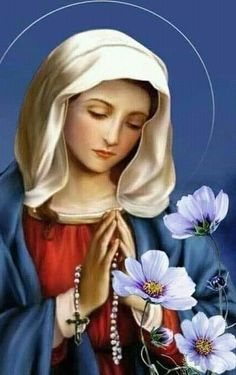 Mother Teresa Prayer, Jesus Mother, Blessed Mother Mary, Blessed Virgin Mary, Mother Mary Images, Images Of Mary, Catholic Pictures, Jesus Pictures, Virgin Mary Art