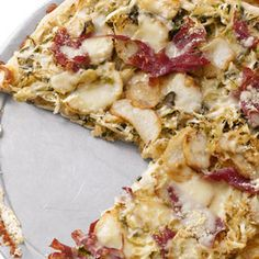 Corned Beef and Cabbage Pizza #TheChew #StPatricksDay
