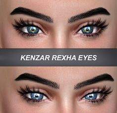 Sims 4 CC's - The Best: Rexha Eyes by Kenzar