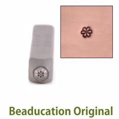 Metal Stamping Tools Daisy Flower Face 2mm Metal Design Stamp - Beaducation Original