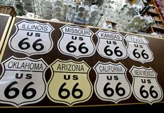 Captured: Route 66 This site has great pictures of Route 66!