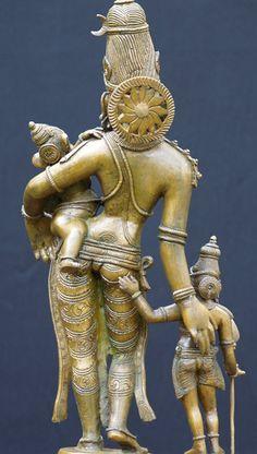 Parvati Ganesh Murugan Bronze Statues, Parvati with her sons ⊰✿♡♥ Om Namah Shivaya, Om Gam Ganapataye Namaha, Indian Gods, Indian Art, Statues, Mystical Forest, Asia, Ancient Artifacts, Gods And Goddesses