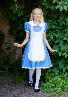 Discover our huge selection of unique Alice in Wonderland Costumes. We have everything for kids and adults to go through the looking glass this Halloween. Dress in an Alice costume, become the Mad Hatter, the Queen of Hearts, or even the White Rabbit. Alice Cosplay, Alice Costume, Disney Cosplay, Costumes For Teenage Girl, Girl Costumes, Costumes For Women, Alice In Wonderland Outfit, Wonderland Costumes, Halloween Alice In Wonderland