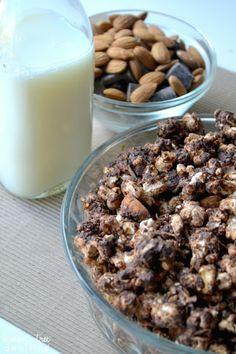 Almond Joy Popcorn from Lemon Tree Dwelling ~ www.lemontreedwelling.com #popcorn