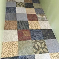 New Commercial Carpet Tiles for Basement