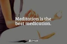 Mediation is the best medication