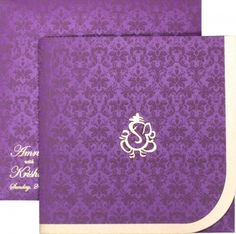 Make this designer wedding card your invitation Card. Find out more on our website.