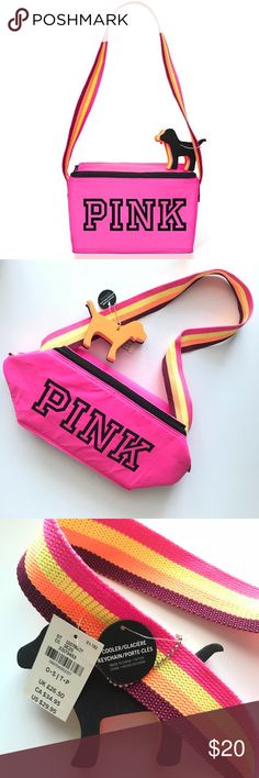 VS PINK Cooler Bag -Limited Edition -NWT, NEVER USED! -Comes with PINK dog keychain PINK Victoria's Secret Other