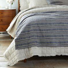 Tagesdecken - Narzuta pikowana lniana lub bawełniana - ein Designerstück von dom-artystyczny bei DaWanda