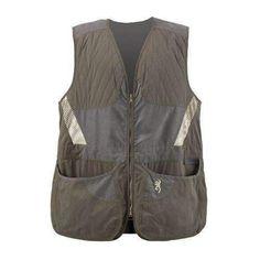 Men's Summit Shooting Vest Green/Dark Gray, X-Large
