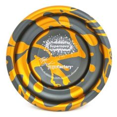 YoYoFactory SuperNova Yo-Yo - Gold Red Acid by YoYoFactory. $74.99. The SuperNova yo-yo has a comfortable shape, high-grade 7075 aluminum and some of the best splash anodizing to leave the factory.The SuperNova weighs in at 67 grams, has a wide catch zone, straight walled gap, and features CBC pad response and a large (C-size) Spec bearing.