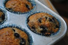Blueberry Muffins   My Halal Kitchen   Inspiration for Wholesome Living   with Yvonne Maffei