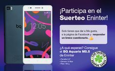 ¡Participa en el #suerteoeninter de un BQ Aquaris M5.5!