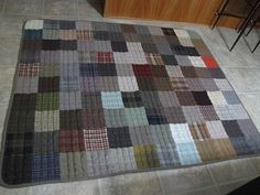 WOOL quilt Made to Order sizes in  6 weeks THROW  by SuziesStuff, $480.00