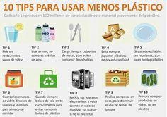 Ayuda a cuidar el ambiente con estos tips para usar menos plástico.