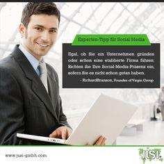 Experten-Tipp für Social Media.  #SocialMedia #ExpertTip #Startups #Business #SMM