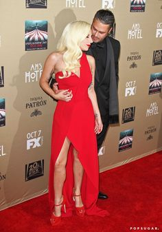 Pin for Later: Lady Gaga and Taylor Kinney's Love Sizzles at the American Horror Story Premiere