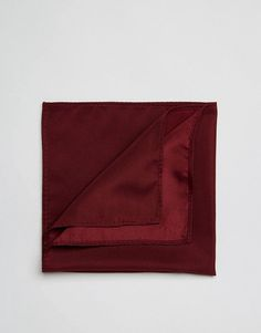 Get this Asos's handkerchief now! Click for more details. Worldwide shipping. ASOS Pocket Square In Burgundy - Red: Pocket Square by ASOS, Smooth fabric, Square cut, Machine wash, 100% Polyester, L: 26cm/10 W: 26cm/10. Designed in-house in our London studio by our dedicated menswear team, ASOS offer a range of men�s clothing designed and created exclusively for ASOS. (pañuelo, handkerchief, headscarf, pocket square, neckerchief, pañuelo, mantas, halstuch, pañuelo, mouchoir, foulard)