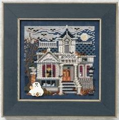 "MH141204 - Haunted Mansion (2011) - Mill Hill - Buttons and Bead Kits - Autumn Series Kit Includes: Beads, ceramic button, perforated paper, floss, needles, chart and instructions. Mill Hill frame GBFRM2 sold separately Size: 5"" x 5"""