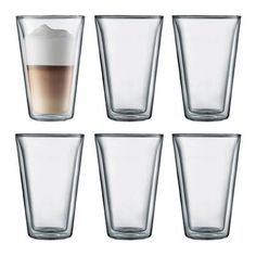 Shop for Bodum Coffee and Tea Mugs, Cups & Glasses. Hot drinks stay hot longer, while the glass remains cool to the touch. Order now from Bodum official online store. Wine Glass Set, Pint Glass, Dessert Glasses, Coffee Dessert, Latte Macchiato, Canteen, Drinking Glass, Cold Drinks