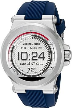 Men's Smartwatches - Michael Kors Access Touch Screen Blue Dylan Smartwatch MKT5008 * Continue to the product at the image link.