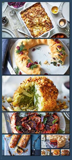 Top 9 vegan Christmas mains Make a stunning vegan main course on Christmas Day. As well as being meat-free and dairy-free, our recipes boast seasonal produce and sensational flavour. Healthy and delicious!
