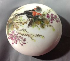 Antique Chinese Famille Rose Porcelain Makeup Box : Lot 162