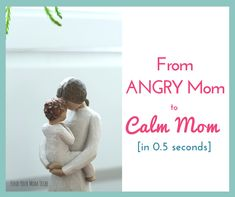 Do you ever struggle with yelling at your kids? Do you need positive discipline solutions? Here's the ONE thing that forever changed an angry mom into a cal