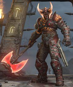 Doom 3, Doom Game, Goblin, Doom Demons, Doom 2016, Monster Concept Art, Art Basics, League Of Legends Characters, Demon Art