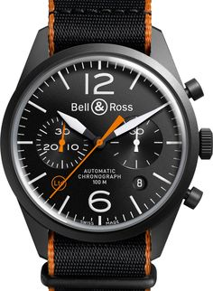 The new Bell & Ross BR 126 Carbon Orange has given us a serious orange crush.
