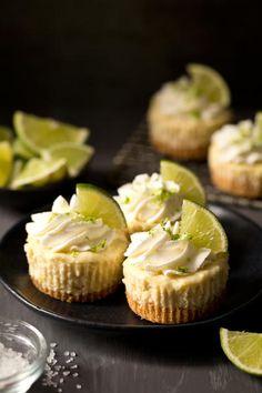 Mini Margarita Cheesecakes recipe