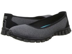 SKECHERS Roll-With-It Black - 6pm.com