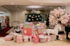 Creations by CB Events's Baby Shower / Enchanted Garden - Photo Gallery at Catch My Party Baby Shower Fun, Shower Party, Baby Shower Parties, Baby Shower Gifts, Rosa Satin, Trajes Kylie Jenner, Garden Baby Showers, Buffet, Girl Birthday Decorations