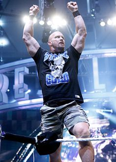 Stone Cold Steve Austin Wwe Costumes, Wrestling Costumes, Austin Wwe, Steve Austin, Jone Cena, Michael Cole, Stone Cold Steve, Wrestling Superstars, Sports Celebrities
