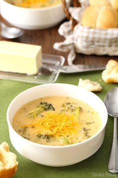 This homemade Broccoli Cheese Soup recipe can be ready in under 30 minutes, perfect for when the weather is cold. It's also great to serve for Lent and Meatless Mondays