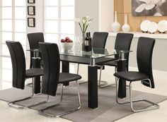 Glass Kitchen Tables ice dining table in frosted glass with 4 dining chairs white