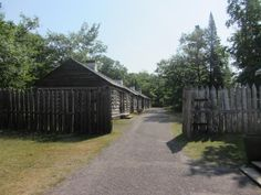Fort Entry Cabins - Fort Wilkins state Park