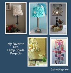 Lamp Shade Projects DIY lamp shades