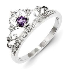 Jewelry & Watches Dutiful Ring Silver 925 With Amethyst And Marcasites Last Style Fine Rings