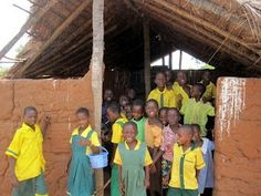 A rural school in Ghana.